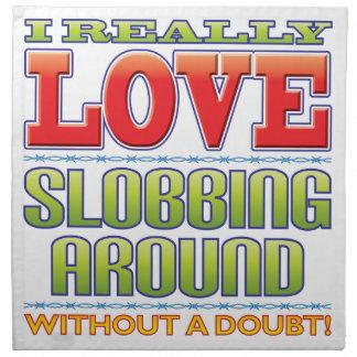 Slobbing Love Napkins