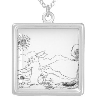 SLObunny Silver Plated Necklace