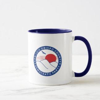 SLOCDP Live Green Vote Blue Mug
