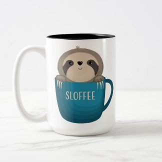 Sloffee! Two-Tone Coffee Mug