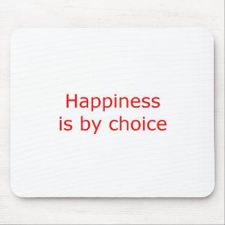 Slogan 3 - Red Mouse Pad