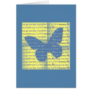 Slogan Butterfly Card