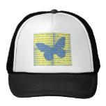Slogan Butterfly Hat
