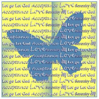Slogan Butterfly Photo Statuette