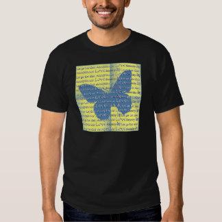Slogan Butterfly Tee Shirt