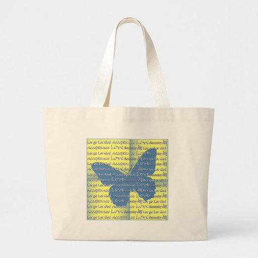 Slogan Butterfly Tote Bag