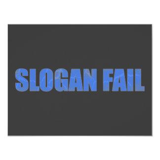 Slogan Fail Card
