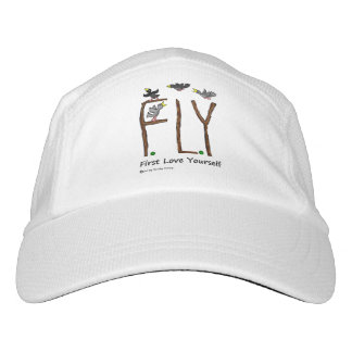 Slogan FLY First Love Yourself Headsweats Hat
