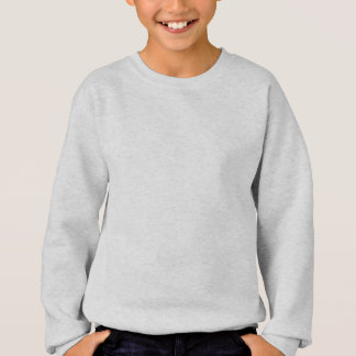 "Slogan ""i am a veggie"" with fruits and vegetables sweatshirt"