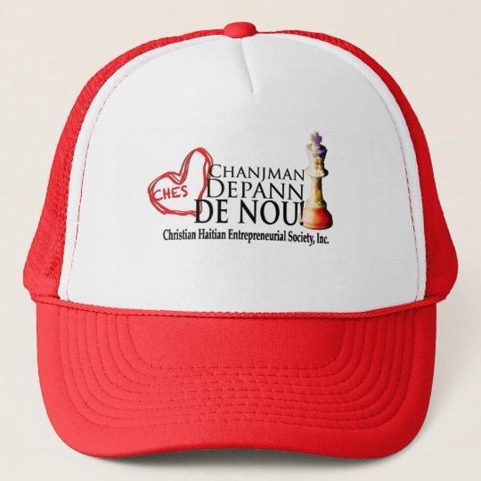 Slogan Line Trucker Hat