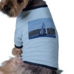 Sloop azul marino ropa de perro