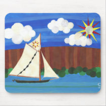 Sloop Clearwater Mouse Pad