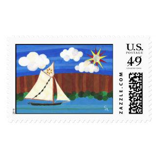 Sloop Clearwater Stamp