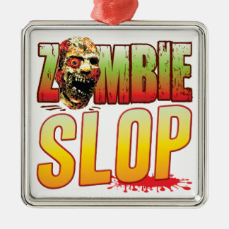 Slop Zombie Head Christmas Tree Ornament