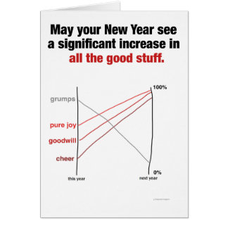 Slopegraph Holiday Card for Data Nerds