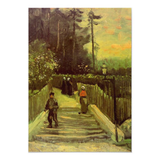 Sloping Path in Montmartre by Vincent van Gogh Card