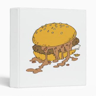 sloppy chili burger binders