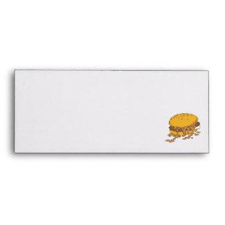 sloppy chili burger envelope