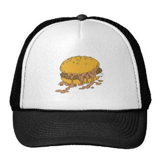 sloppy chili burger mesh hats
