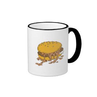 sloppy chili burger mug