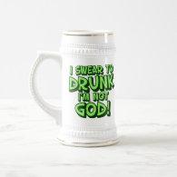 Sloppy Drunk 18 Oz Beer Stein
