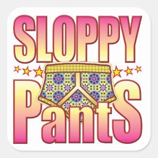 Sloppy Flowery Pants Sticker