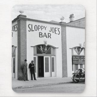 Sloppy Joe's Bar, Key West, 1930s Mouse Pad