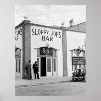Sloppy Joe's Bar, Key West, 1938 Posters