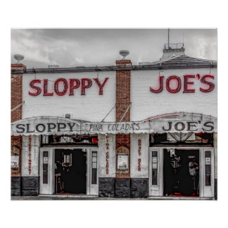 Sloppy Joe's Key West Poster