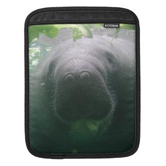 Sloppy Manatee iPad iPad Sleeve