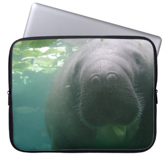 Sloppy Manatee laptop Laptop Sleeves