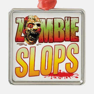 Slops Zombie Head Christmas Tree Ornament