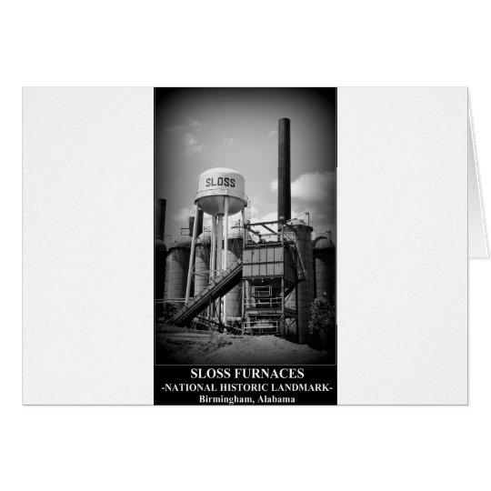 SLOSS FURNACES - National Historic Landmark Card