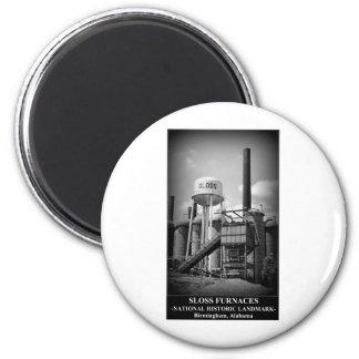 SLOSS FURNACES - National Historic Landmark Fridge Magnets