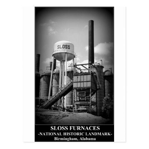 SLOSS FURNACES - National Historic Landmark Post Cards