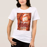 Slot Canyon Arizona travel poster T-Shirt