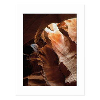 """Slot Canyon - Vertical"" Postcard"