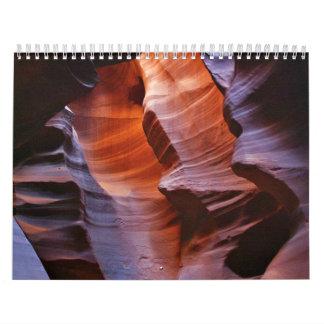 Slot Canyons Calendar
