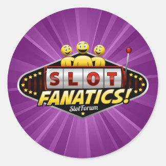 Slot Fanatics Products Classic Round Sticker