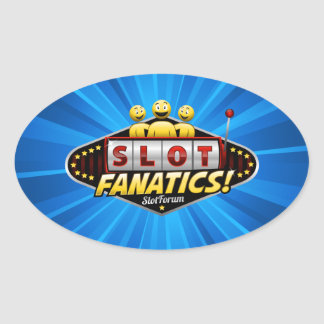 Slot Fanatics Products Oval Sticker