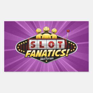 Slot Fanatics Products Rectangular Sticker