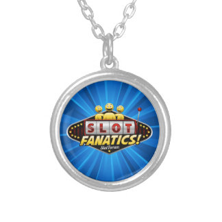 Slot Fanatics Products Silver Plated Necklace