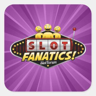Slot Fanatics Products Square Sticker