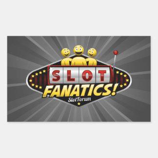 Slot Fanatics Rectangular Sticker