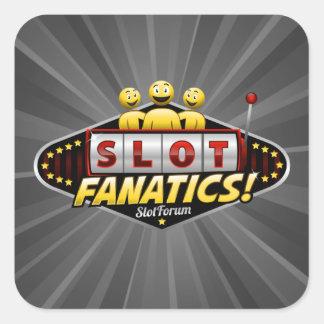 Slot Fanatics Square Sticker