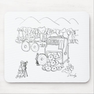 Slot Machine Cartoon 9300 Mouse Pad