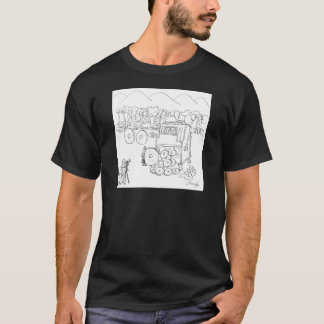 Slot Machine Cartoon 9300 T-Shirt
