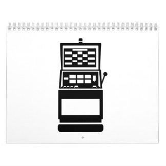Slot machine casino calendar