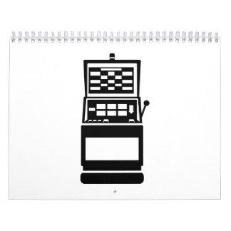 Slot machine casino calendar