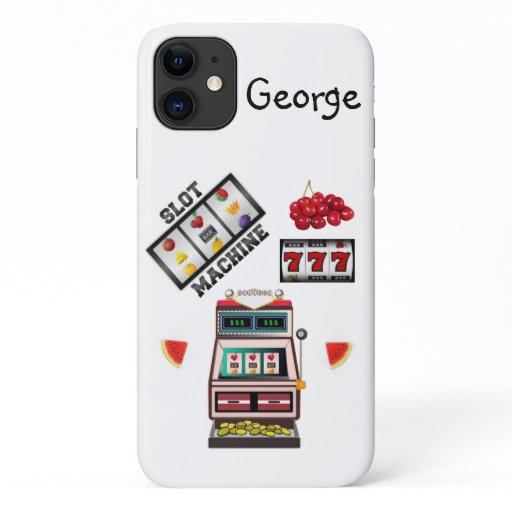 Slot Machine Casino Iphone Case